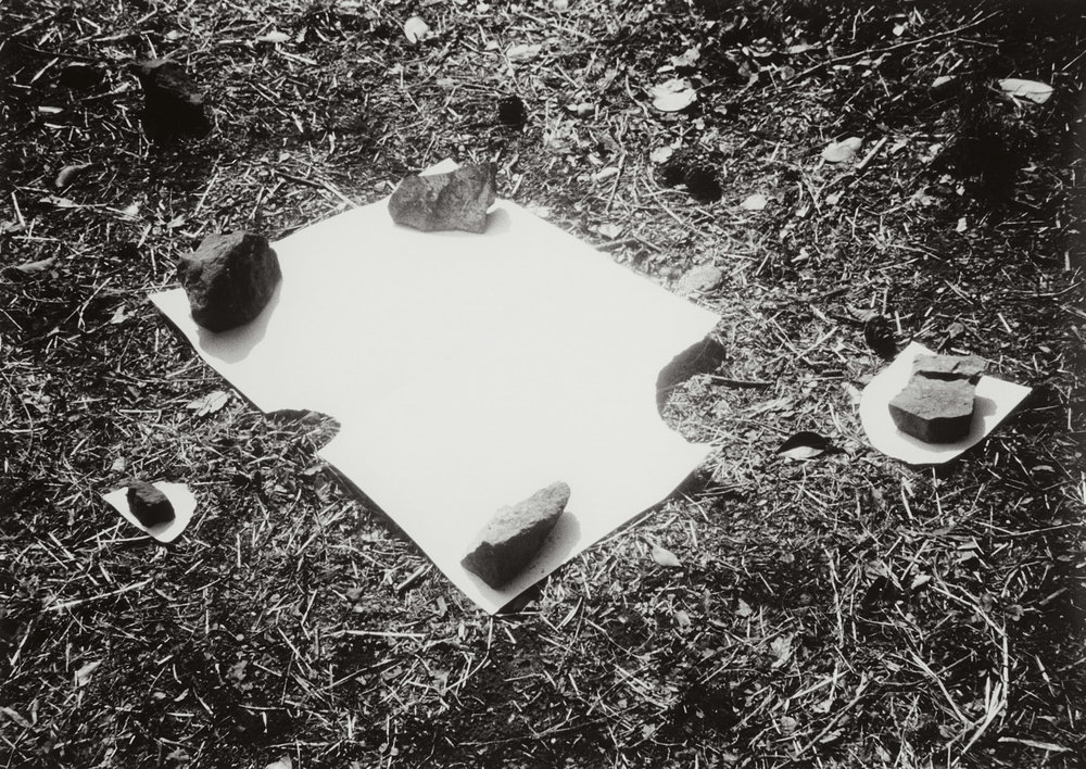 Appearing Space , 1982 C-print 7 7/8 x 11 1/8 inches 20 x 28.3 centimeters