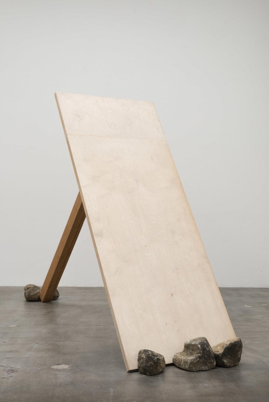 "Diagonal Phase , 1969/2012 斜位相 ( Shaisō ) Wood, stones                     Normal   0           false   false   false     EN-US   JA   X-NONE                                                                                                                                                                                                                                                                                                                                                                              /* Style Definitions */ table.MsoNormalTable {mso-style-name:""Table Normal""; mso-tstyle-rowband-size:0; mso-tstyle-colband-size:0; mso-style-noshow:yes; mso-style-priority:99; mso-style-parent:""""; mso-padding-alt:0cm 5.4pt 0cm 5.4pt; mso-para-margin:0cm; mso-para-margin-bottom:.0001pt; mso-pagination:widow-orphan; font-size:12.0pt; font-family:Cambria; mso-ascii-font-family:Cambria; mso-ascii-theme-font:minor-latin; mso-hansi-font-family:Cambria; mso-hansi-theme-font:minor-latin;}     101 1/2 x 171 x 48 inches overall Installation view,Blum & Poe, Los Angeles, 2012 Courtesy Blum & Poe, Los Angeles / New York / Tokyo"
