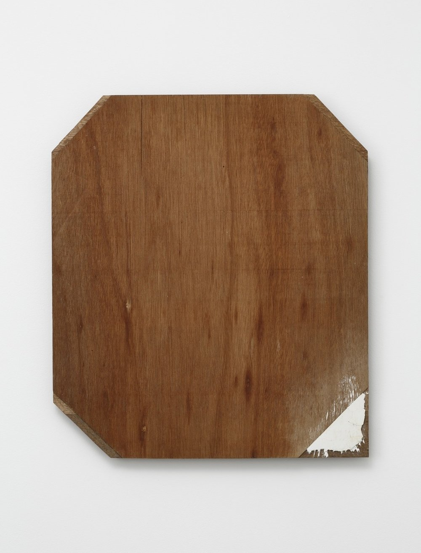 Supplemented Material—8631 , 1986 補われた素材ー8631 ( Oginawareta Sozai—8631 ) Plywood, putty 20 1/2 x 17 3/4 x 1 inches  52 x 45 x 2.5 centimeters