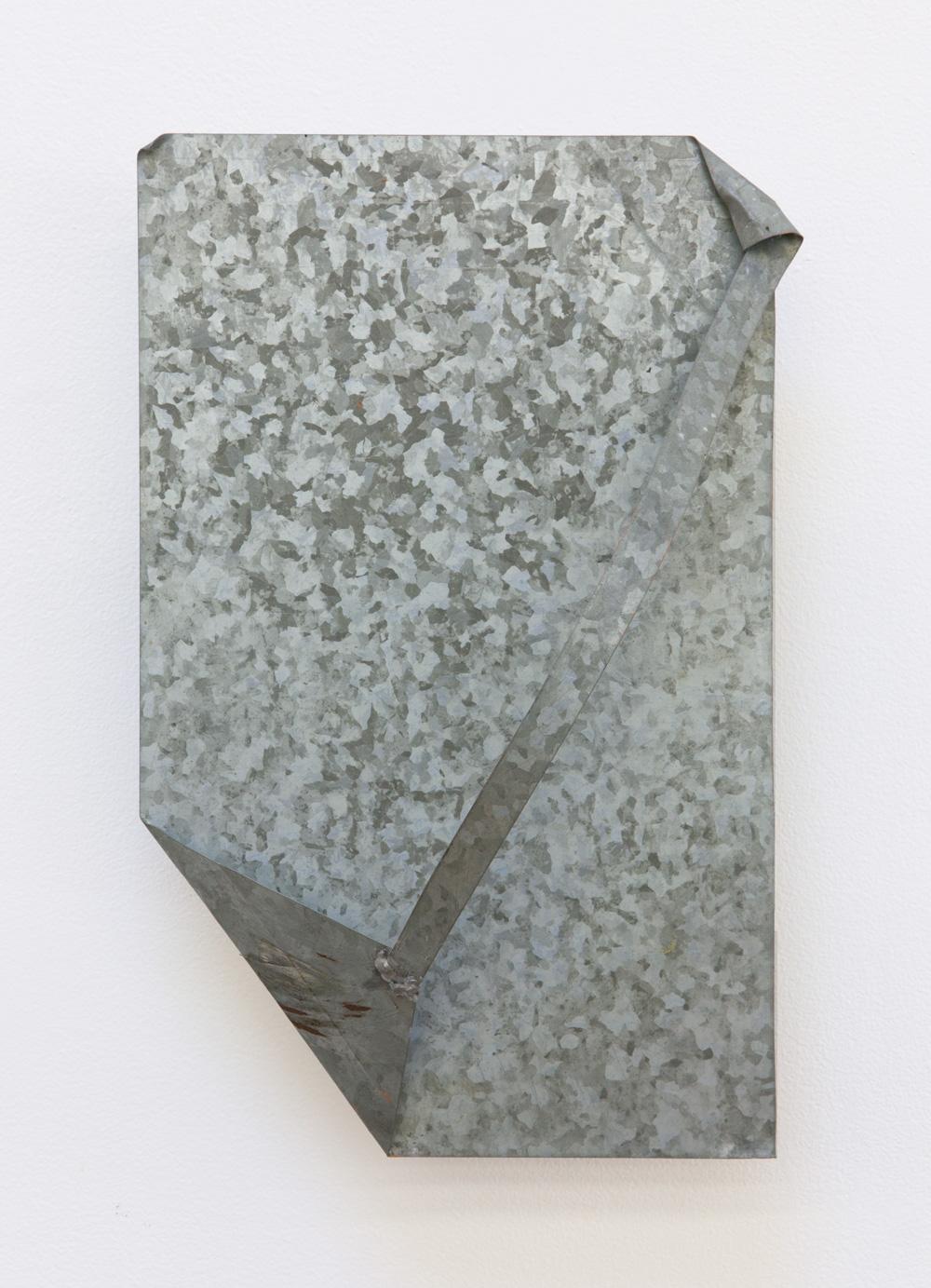 Edge and Corner—Surrounding , 2004 辺と角—連周 ( Hen to kado—Renshū ) Zinc plate 11 7/8 x 7 1/4 x 4 7/8 inches 30 x 18.5 x 12.5 cm