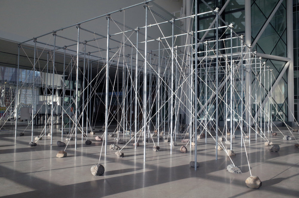 Law of Peripheral Units , 1997/2017. Installation view at Centre Pompidou – Metz, France, 2017. Photo:Tsuyoshi Satoh.