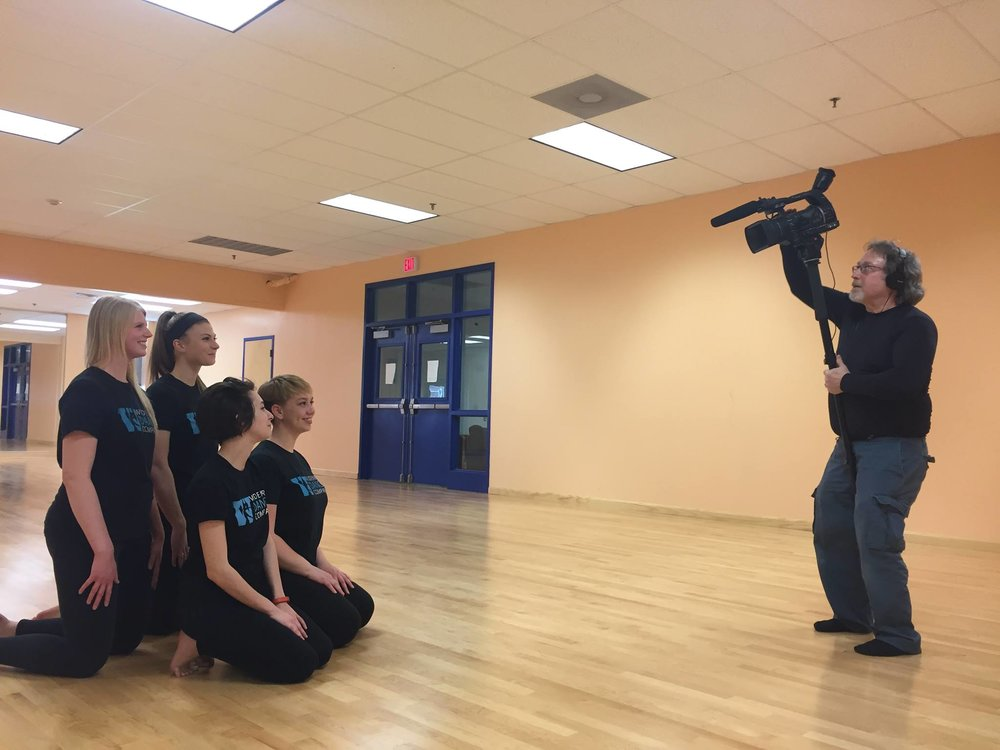 2016- Henry films a portrait of a dance group for Widener University