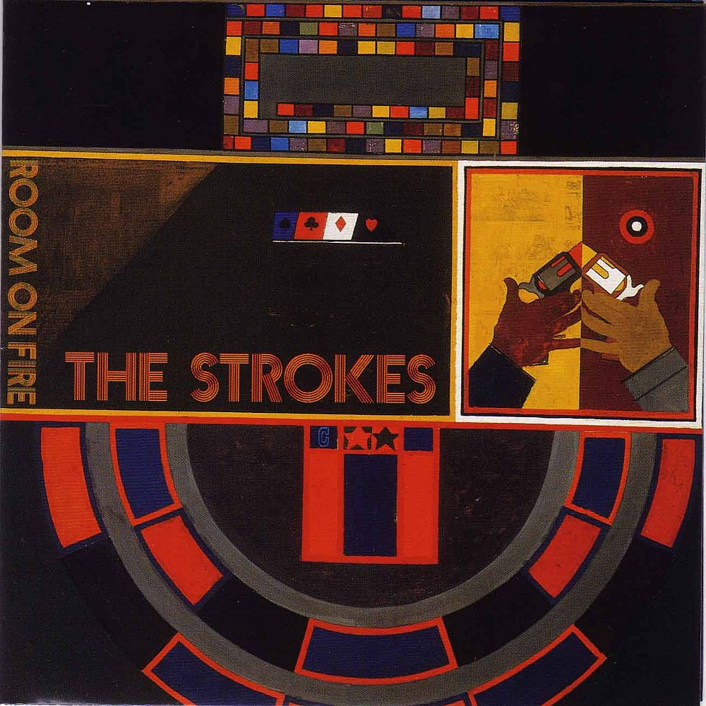 Image result for the strokes room on fire