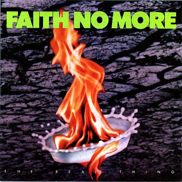 Image result for faith no more the real thing album cover