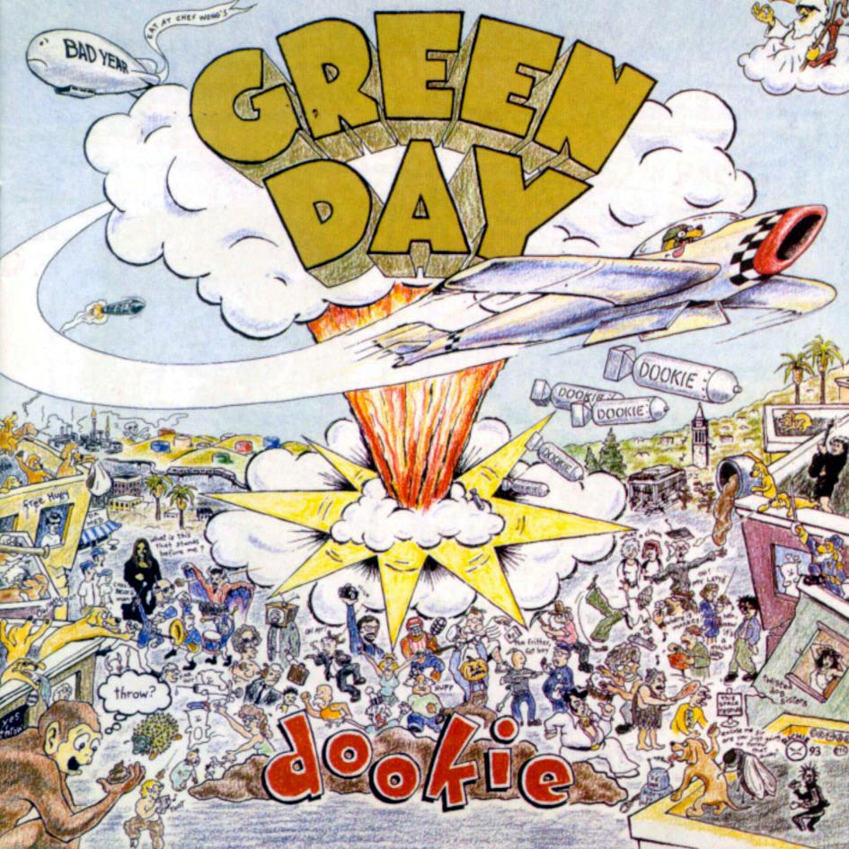Image result for green day dookie