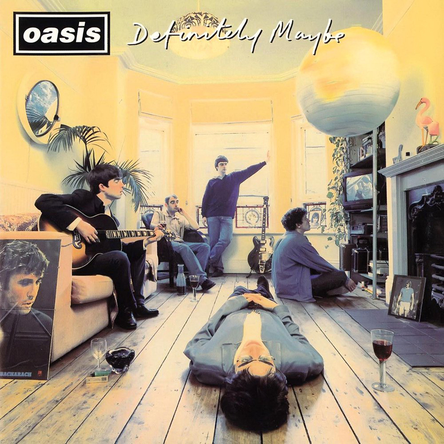 Image result for oasis definitely maybe