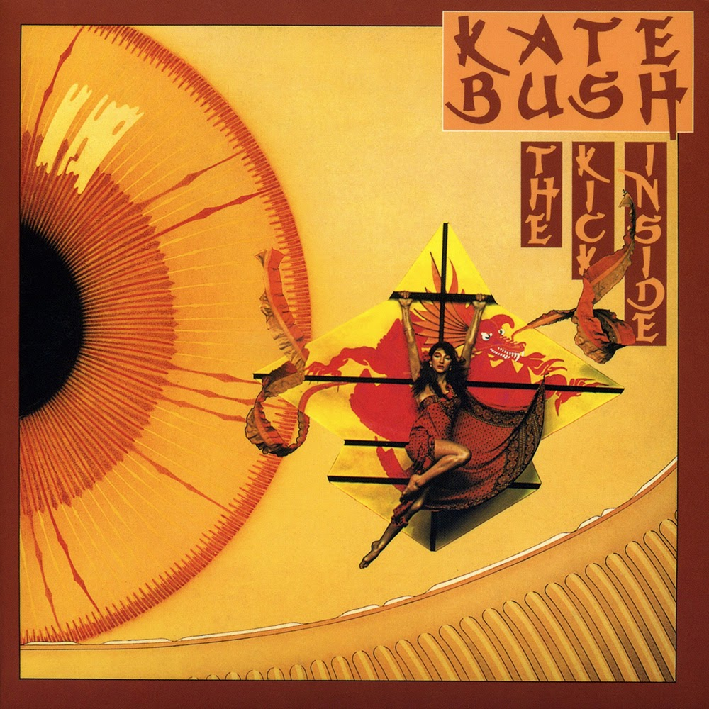 Image result for kate bush the kick inside album cover