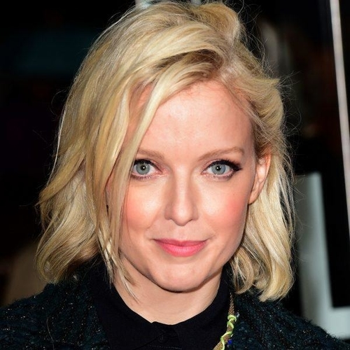 40db9335 IN THIS PHOTO: Lauren Laverne presented her first (excellent) breakfast  show on BBC Radio 6 Music today/PHOTO CREDIT: Getty Images