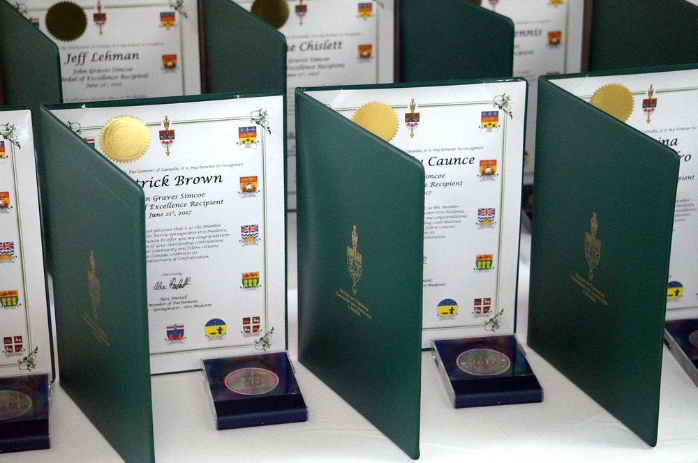 Certificates -