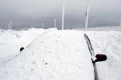 Car Park under snow