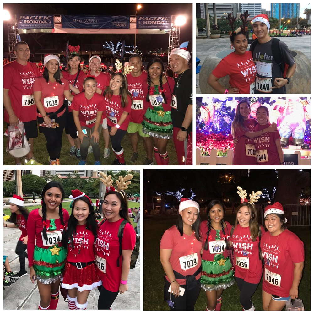 Make-A-Wish  Jingle Rock Run