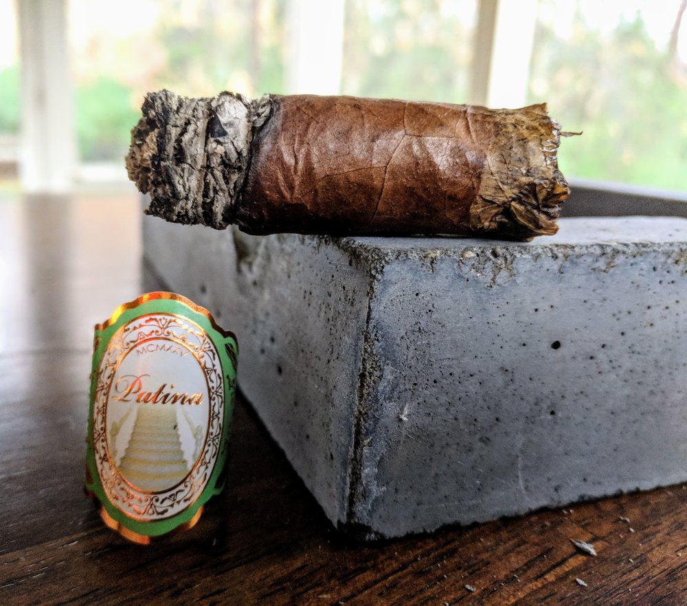 A nice patina.                                8.1  /  10.0  - Patina's Habano blend was my introduction to the brand and it certainly did not fall short. The toro started flavorful enough and always melded together to create a complex and perfectly balanced cigar.  It had some expected cedar and spice but the cream, vanilla and orange zest were a welcome addition and really shined at the end. For the price, I feel like the Patina Habano really delivers and has earned my recommendation.  I'm looking forward to seeing what the other blends and vitolas have to offer!