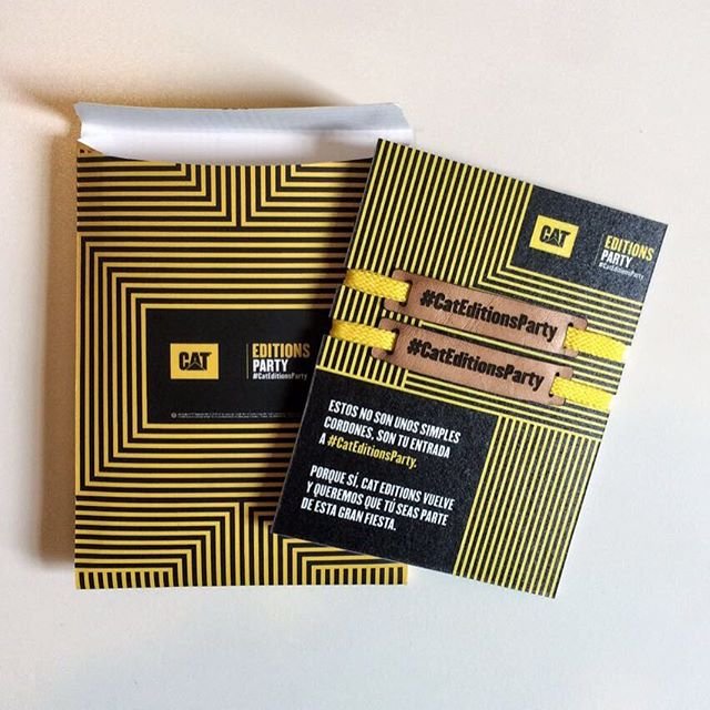 Cat Editions Party - Invitación #conceptdesign #production #creativedirection #design