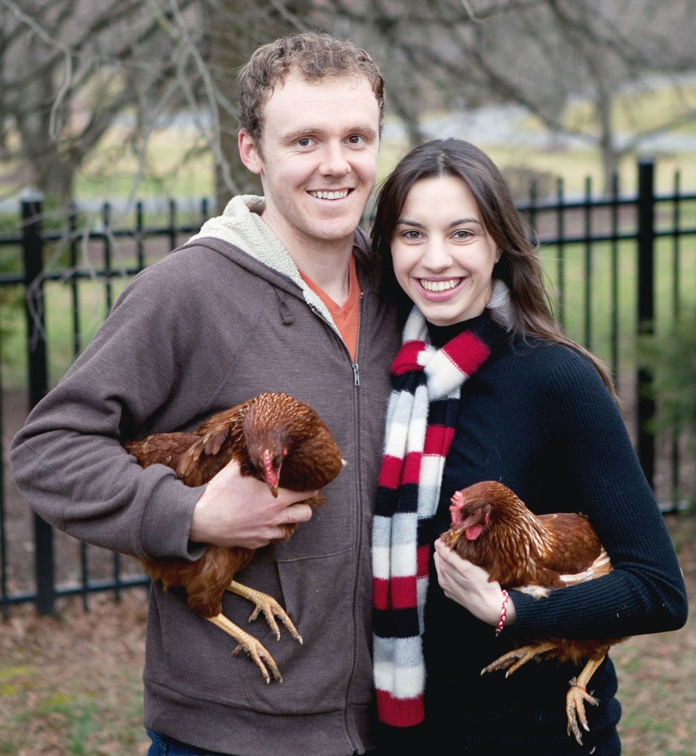 Who are we? - My wife Diana and I started RentACoop in 2012, just a few years out of college. Back then it was simply a chicken coop rental business.We've since added a chick hatching program and have even started manufacturing our own chicken supplies.Our absolute favorite part of this business is arriving at a house/school with the chickens and seeing the kids' faces light up.We hope to continue supplying these unique programs for years to come!- Diana and Tyler Phillips