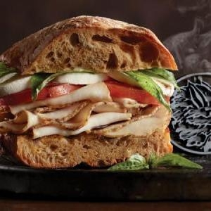 Chipotle Chicken Sandwich - $8.99   Chipotle Chicken & Chipotle Gouda w/ Bacon or Avocado on your choice of bread.