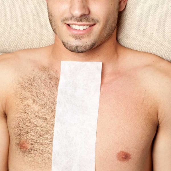 Body waxing services for men
