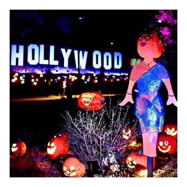 Happy Halloween from La La Land 🎃 getting in the spirit at the new @nightsofthejack! 🎃👻💃🏻 (photo: @julieellerton via @malibutimes )