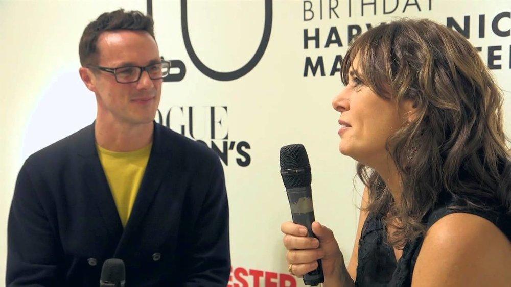 Vogue Fashion Night Out - Interviewing Alexandra Shulman
