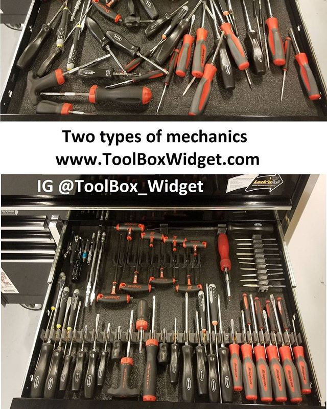 This drawer took less than 5 minutes to setup with the ToolBox Widget.  Add your email to www.ToolBoxWidget.com for discounts and updates, launch end of March 2018. Veteran Owned, please help us Share  #ToolBoxWidget #Veteranownedbusiness #veteranbusiness #snapon #snapontools #matco #matcotools #gearwrench #craftsmantools #dewalttools #milwaukeetools #wrenchwednesday #toolboxtuesday #wrenches #sockets #pliers #toolbox #topdrawertuesday #dieseltech #aircraftmaintenance #toolorganization #automechanic #Tools #toolsofthetrade #Mechanic #Garage #Toolporn #Lowes #HomeDepot #AdvanceAutoPart