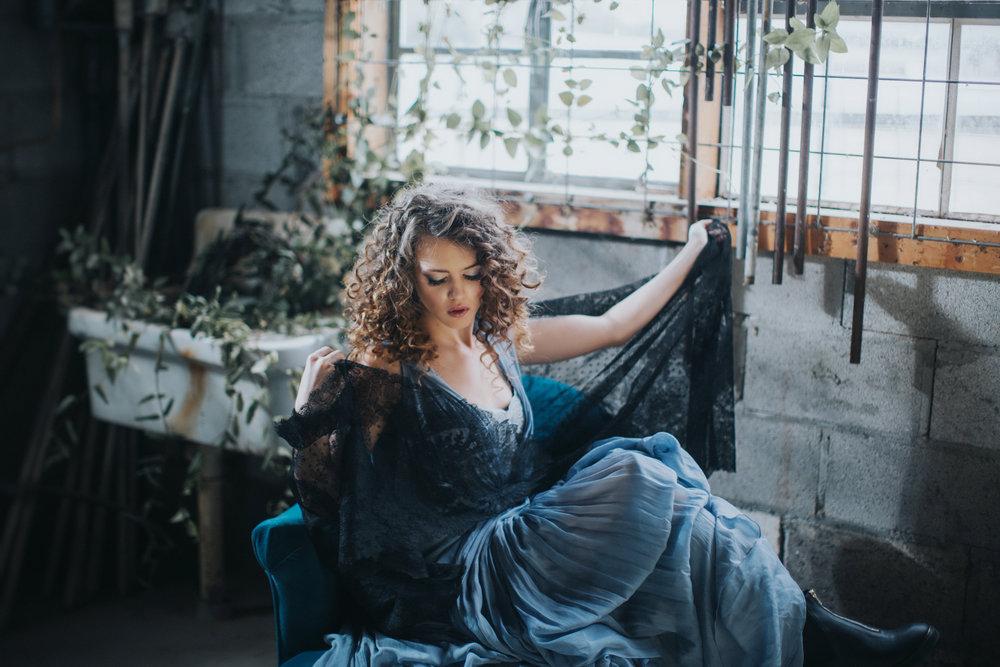 Editorial. Model: Sophie Stroud. Photographer: Blue Rose Photography. Bosque Farms, New Mexico. C. Johnson Makeup - hair & makeup.