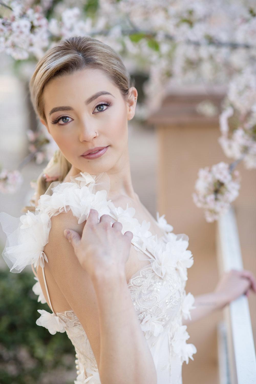 Editorial. Model Jaden Maizon. Gown: Teresa Romero. Photographer: Maura Jane Photography.