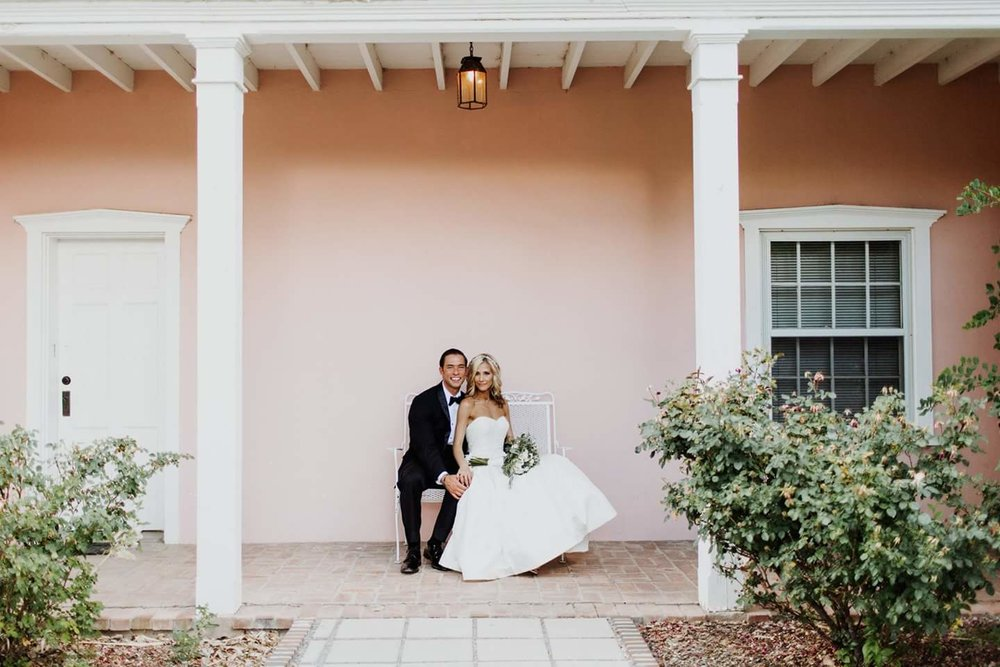 Real Wedding Spring 2017- Mackenzie & Cassandra. Los Poblanos Inn. Beth Wells Photography.
