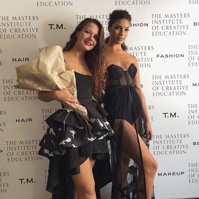 Congratulations to the Bachelor of Fashion Business Award for Determination winner, Adela Zemanova! 👏