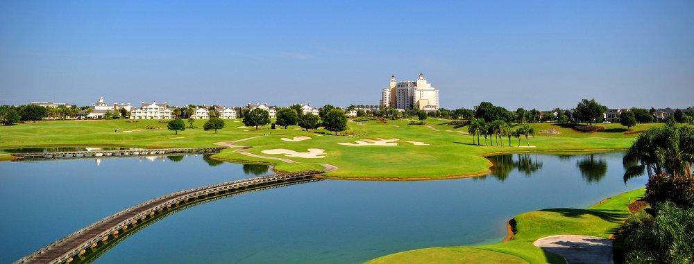 Disney Golf Aerial Photo