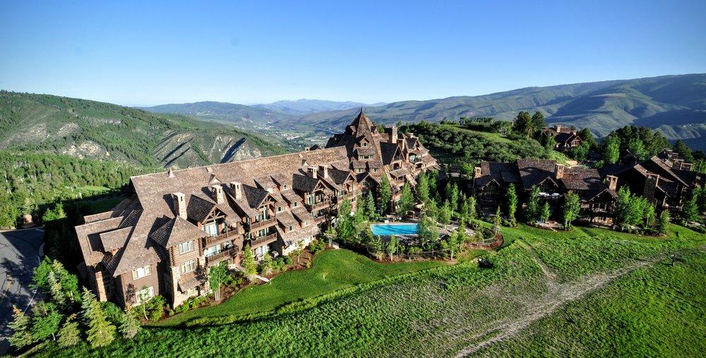 Colorado Hotel Aerial Photo