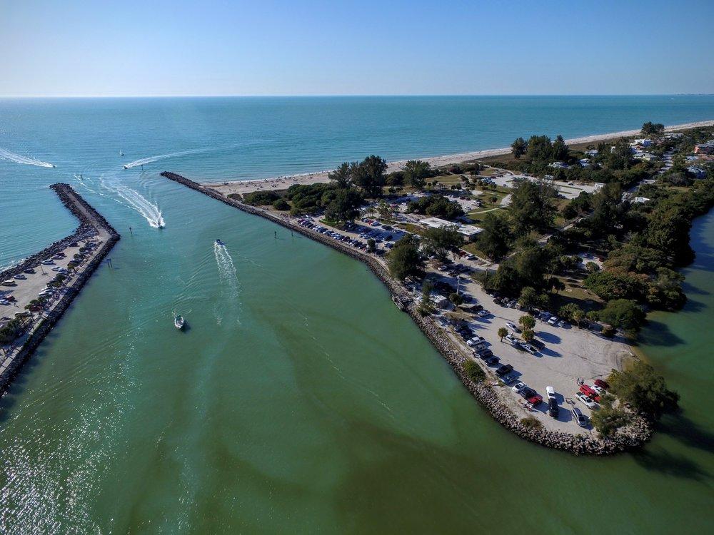 Venice Jetty Aerial Photo