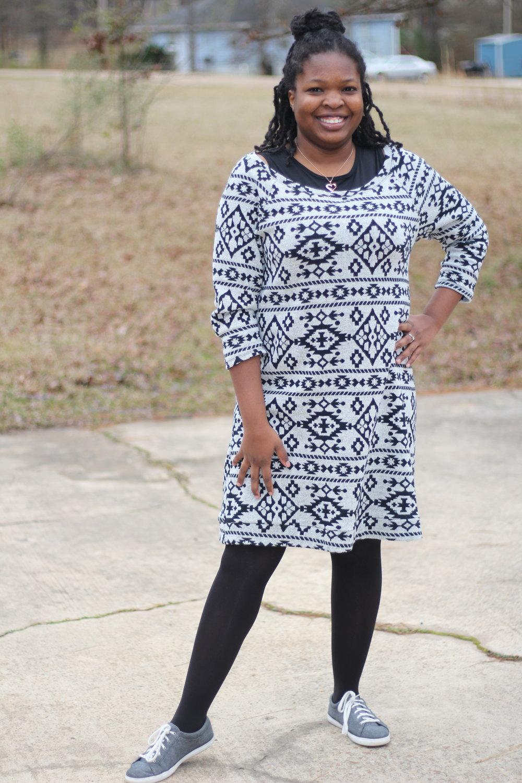 f1a52fb3fbf1 Sweater Dress  New Look 6298 — strictstitchery