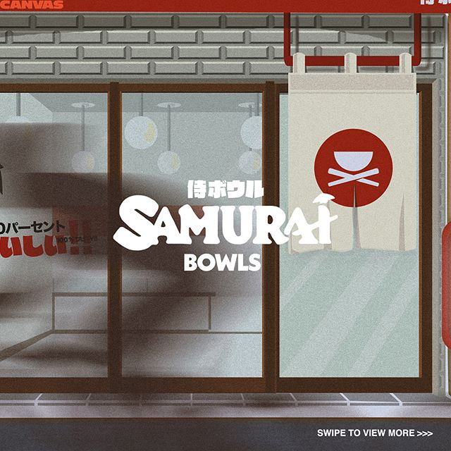 One of the most fun project to work with. Authentic Japanese Donburi with a very engaging branding approach.