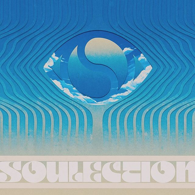 Drafted this artwork for the @soulection tour. Ended up utilizing a totally different approach. Still, one for the archive.
