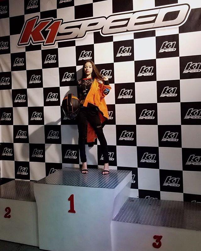 No competition 😏😎🚗💨🏁 • • • • • • • • • • #blogger #youtuber #model #gokarting #k1speed #race #racer  #fashionista #southflorida #May #2018 #glam #fashion #fun #quote #diamondgirl #classy #iconic #girlboss #luxelife #influencer #positivevibes #htblogger  #bloggerunion #ftlbloggers #stylehaulfam #promomodel