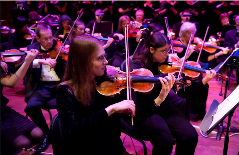 NWSO violinists