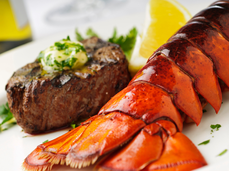 THURSDAY $23 - Build Your Own Surf & Turf