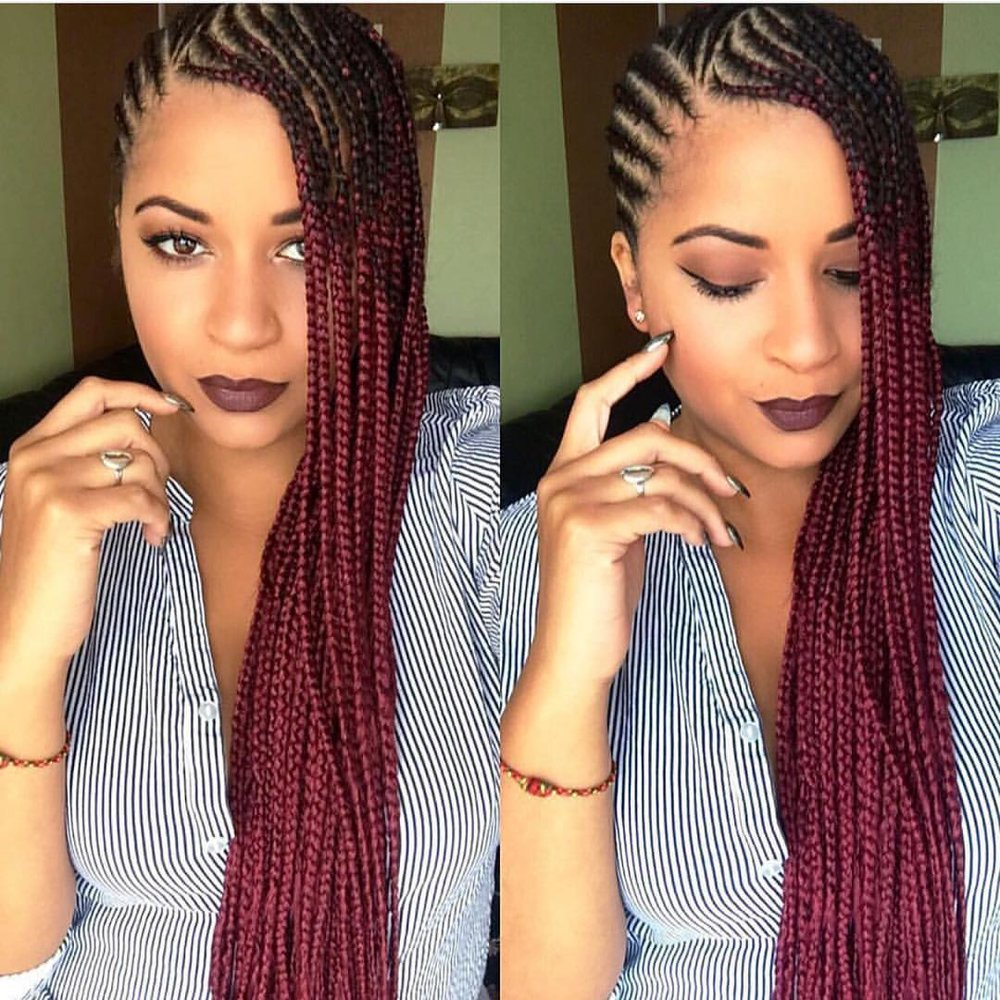 style for hair braiding black hair is lit le reine 5930 | IMG 6164