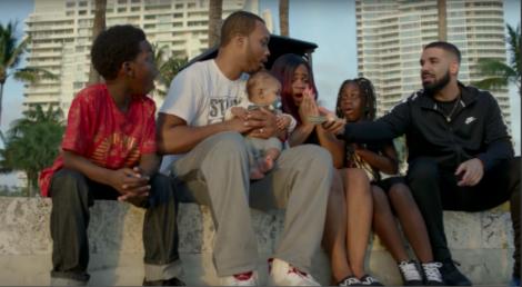 "Drake on the set of the ""God' Plan"" music video. [Image Credit: Google Images]"