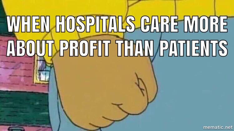 Hospital administrators are lying to us. They care about their bottom line and their 7-figure salaries, but we believe in  #patientsoverprofits . We're voting  #Yeson1  with working people! Join us and vote #Yeson1 for  #SafePatientLimits  with  Massachusetts Jobs with Justice! ,  Massachusetts Nurses Association ,  Safe Patient Limits Save Lives ! --- The corporate agenda isn't working for us. That's why this November, we're fighting for the People's Agenda. We need a YES vote on ballot questions 1, 2, and 3 to ensure working people feel safe & healthy in their communities.  Read more about People's Agenda and why we need to vote Yes on all three ballot initiatives for working people and our communities, checkout  https://www.massjwj.net/news/2018/9/19/why-the-peoples-agenda   Pledge to Vote for the People's Agenda!:  http://bit.ly/PeoplesAgendaVotePledge