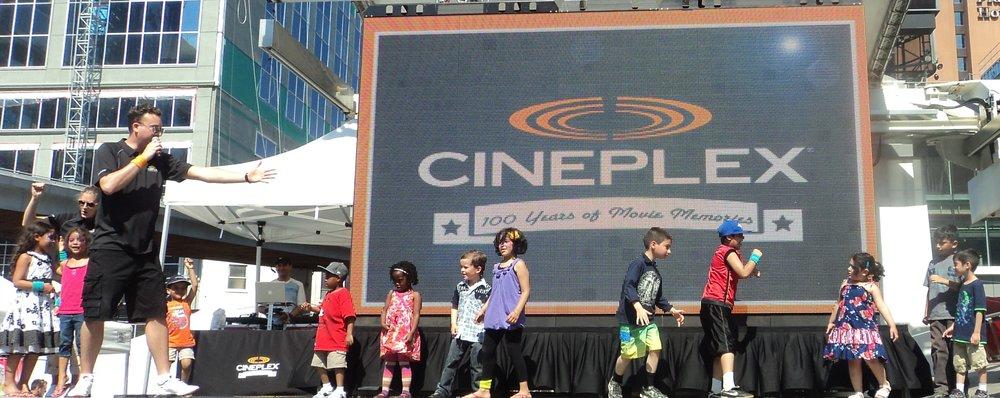 Cineplex 100th Celebration