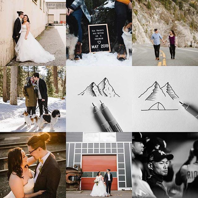 "2018 was an amazing year, and one that will never be forgotten. These ""best 9"" photos do a pretty good job of aiming that up. - @jm.boden and I tied the knot. We announced we are expecting a little one this coming year. We went on a 2,800 mile road trip to see our awesome friends and amazing sights along the way. I started a new job in February. Went on some mini adventures. And just had an awesome time all year. - 2019 is going to be awesome, and I am excited to share all of our adventures throughout the year. - P.S. apparently I should draw more?! Haha"