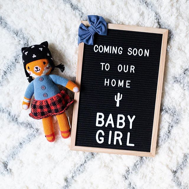 They day is getting closer, and the excitement keeps growing. Jordan and I can't wait for our baby girl to come into this world May 2019.
