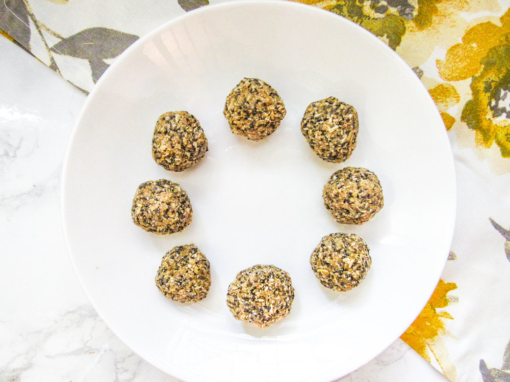 Kickstart your day - Need a boost of energy? These zesty bites can prep you for a busy day or intense workout!