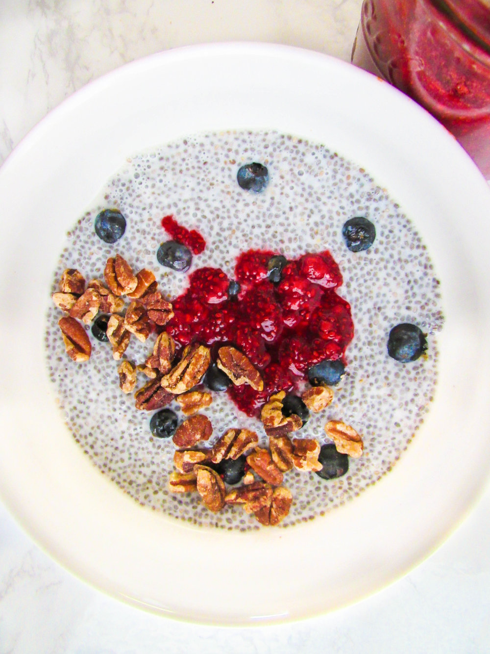 Omega 3's! - Want to get your omega 3's in today? This chia + pecan recipe will get you there!