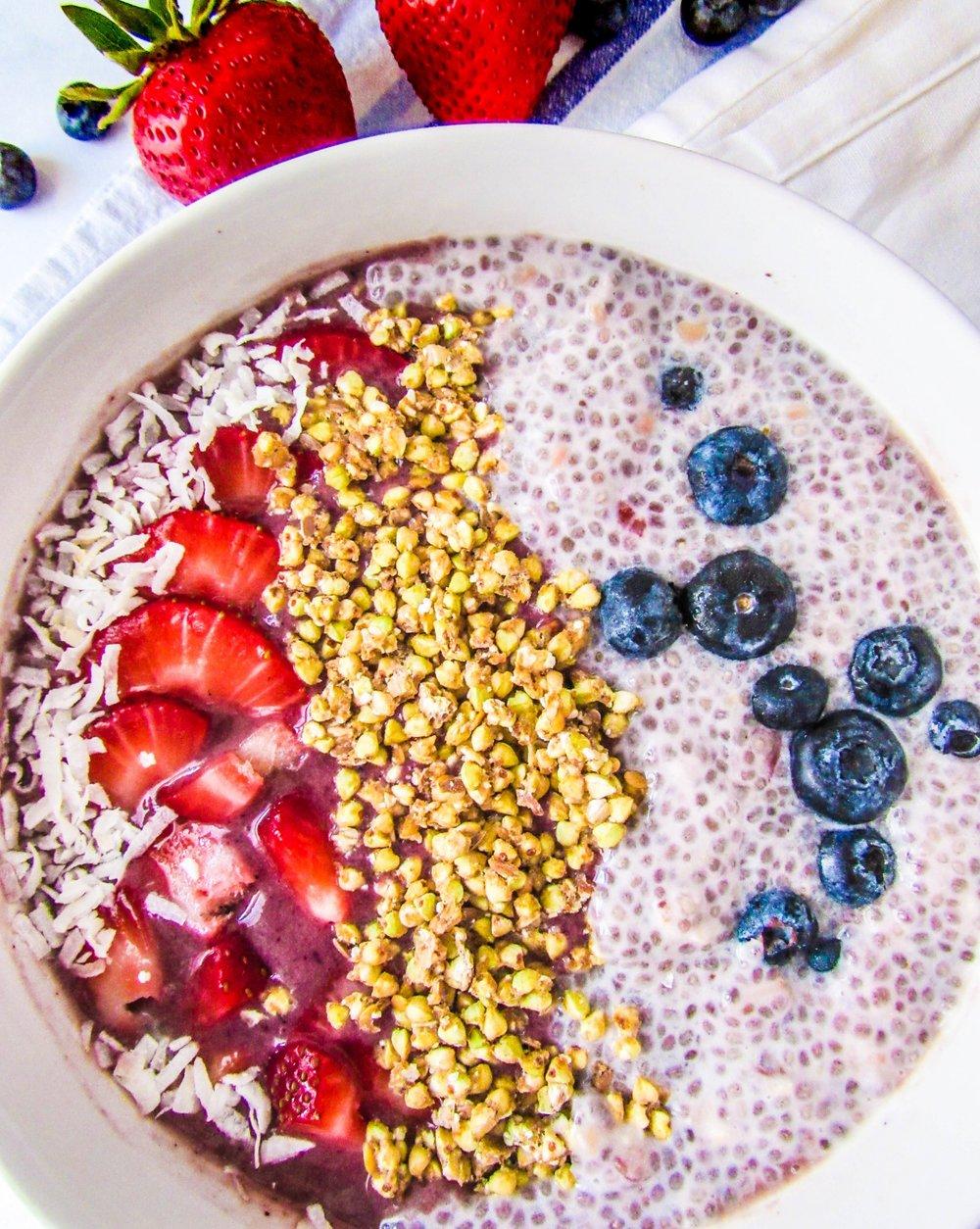 We <3 Acai - Acai is full of vitamin C, antioxidants, fiber, & is low in sugar!
