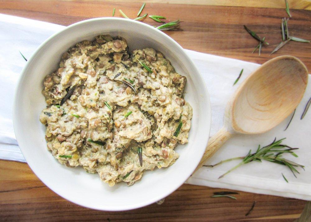 Teeming Tahini - Tahini is full of healthy fat, fiber, protein, + calcium!