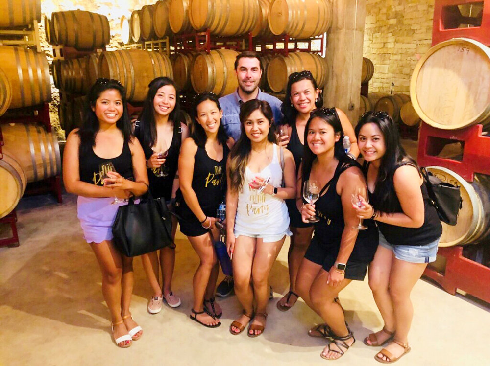 Dripping Springs Wine Tour - Fall Creek VineyardsSalt Lick BBQ & Cellars (meal not included)Hawk's Shadow Winery & VineyardsBell Springs Winery$135/person15% gratuity not included.