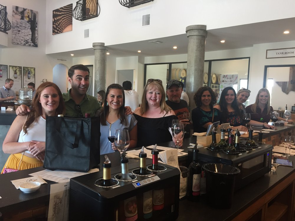 Fredericksburg Wine Tour & Main Street - Lewis WinerySignor VineyardsMain Street (shopping, drinking, dining)$135/person15% gratuity not included.