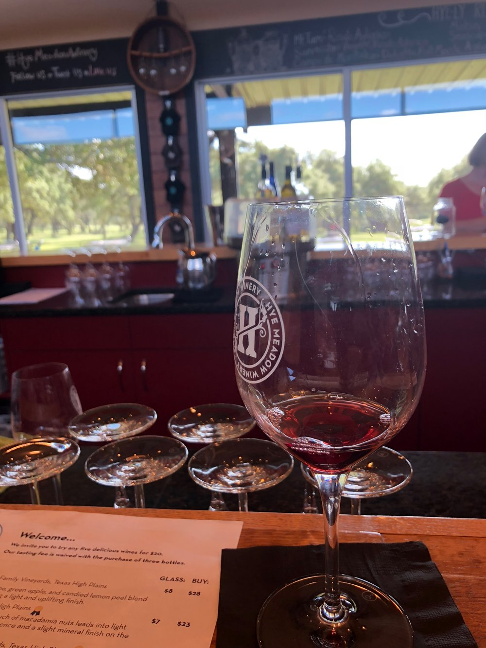 Hye Mixed Tour - Hye Meadow WineryHye Market (lunch not included)Hye RumGarrison Brothers Distillery- Bourbon tour + tasting included, pending availability$140/person15% gratuity not included.