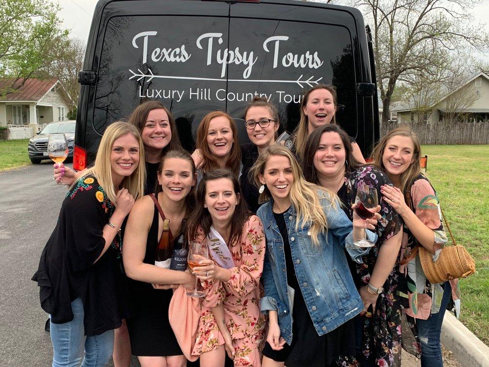 Bachelorette Girls Texas Tipsy Tours